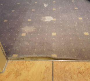 Teppich defekt Relexa Hotel Ratingen City