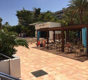 Aussenbereich an der Snackbar SENTIDO Gran Canaria Princess