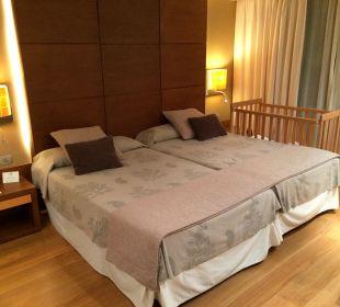Schlafzimmer Juniorsuite Gran Hotel & Spa Protur Biomar
