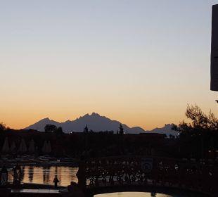 Sonnenuntergang  Jungle Aqua Park