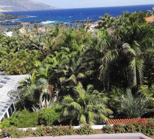 Blick auf den Garten Hotel Hacienda San Jorge
