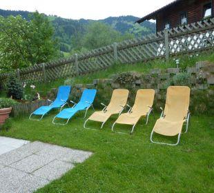 Kleine Liegewiese zum Relaxen Hotel Klausenhof