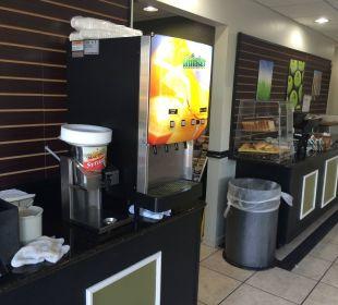 Frühstücksbuffet La Quinta Inn Orlando Universal Studios