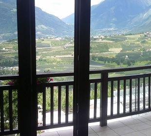 Blick aus dem Zimmer..... Genusshotel Der Weinmesser