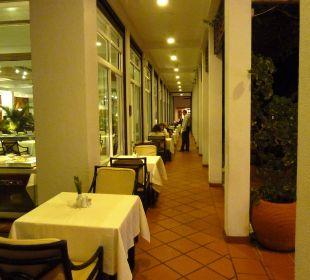 Restaurant Außenterrasse Hotel Lanka Princess