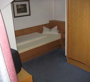 Einzelzimmer 3. Etage Hotel Idhof