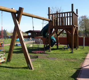 Spiel Spaß im Garten Ferienhaus Wattkuckuck