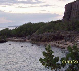 Die kleine Strandbucht des Hotels Hotel Club Amigo Bucanero (existiert nicht mehr)