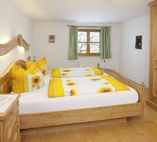 Bauernstube Schlafzimmer Ferienwohnungen Berghof Kinker