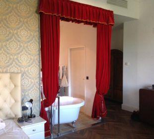 Eingang Bad vom Schlafzimmer Hotel Wiesler