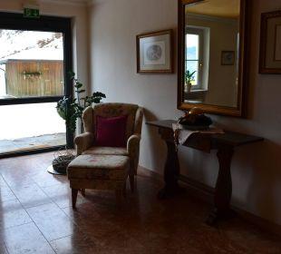 Überall im Hotel liebevolle Details Hotel Alpenschlössl