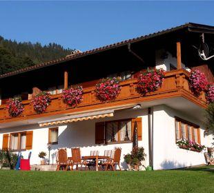 Haus Frechen, Westseite mit Freisitz Ferienwohnung Haus Frechen