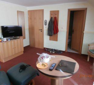 Wohnzimmer Hotel Nussbaumhof