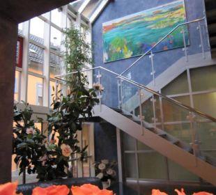 Eingang Badischer Hof Hotel