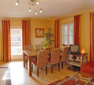 Exklusive Küche mit Wohnraum Apartment Hotel Bio-Holzhaus Heimat