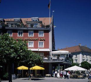 Blick von der Seepromenade Hotel Lindauer Hof
