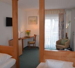 Twin Bett Zimmer Hotel Deutscher Kaiser im Centrum