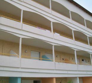 Teil der Zimmer Hotel Livadi Nafsika