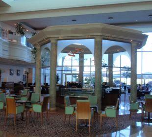 Kaffeebar in der Lobby
