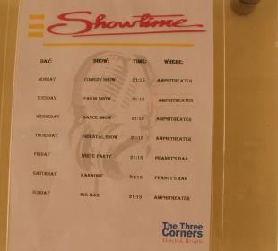 Die Show-Karte