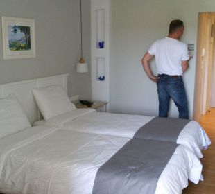 Unser Zimmer  Hotel Elea Beach