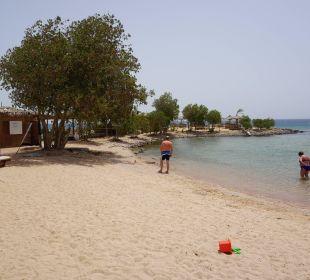 Rechter Strandabschnitt