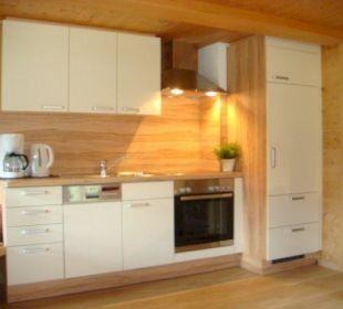 Küche Appartement Almrausch Wörglerhof Alpbacher Hüttenappartements & Saunaalm
