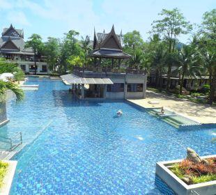 Haupt-Pool Hotel Mukdara Beach Villa & Spa Resort