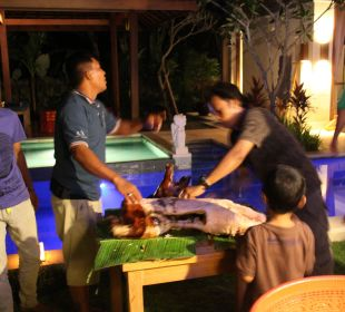Rumah Isah - Geburtstagsparty Nusa Indah Bungalows & Villa
