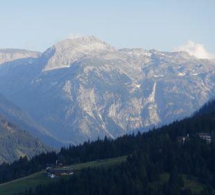 Ausblick von der Almhütte Funsport-, Bike- & Skihotelanlage Tauernhof