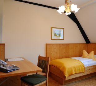 Einzelzimmer Burghotel Deutschlandsberg