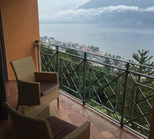 Ausblick auf Locarno Villa Orselina Boutique Hotel