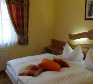 Schlafzimmer im Apartements Gasthaus Kramerwirt