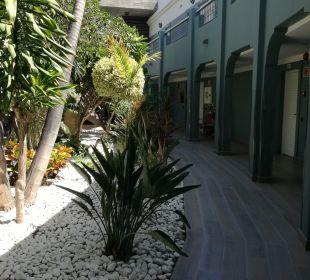 Gartenanlage Adrián Hoteles Colón Guanahaní