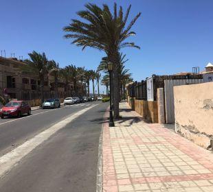 Weg hinter Hotel Gran Hotel Atlantis Bahia Real