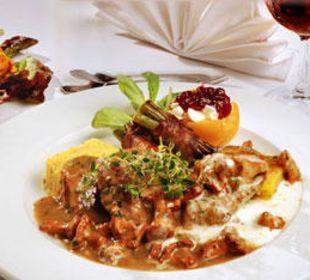 Steirische Küche z.B. mit Eierschwammerl Gasthaus Kramerwirt