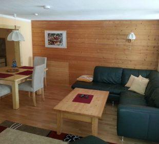 """Wohnzimmer der neuen Fewo """"Iseler"""" Naturgesund Haus Viktoria"""