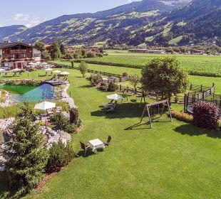 Gartenanlage Aparthotel Stacherhof