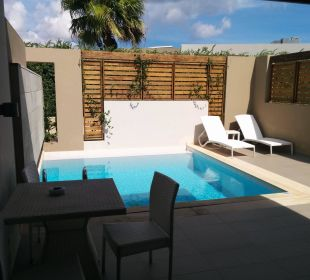 Terasse mit Pool Hotel Resort & Spa Avra Imperial Beach