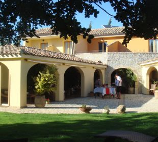 Blick vom Garten S'Arenada Hotel