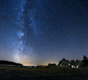Der Oberjosenhof in einer sternenklaren Nacht Ferienbauernhof Oberjosenhof