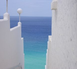 Weg zum strand Hotel Rocamar Beach