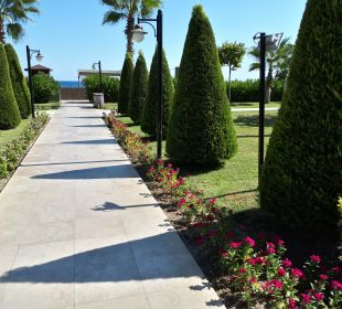 Gartenanlage Kilikya Palace Göynük