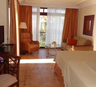 Unser Zimmer, recht groß Gran Tacande Wellness & Relax Costa Adeje