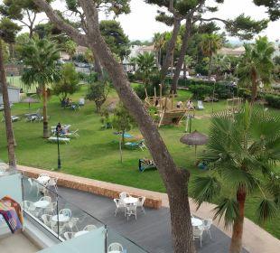 Gartenanlage Hotel Playa Esperanza