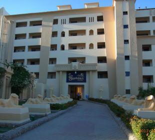 Zugang zum Hotel Sphinx Aqua Park Beach Resort