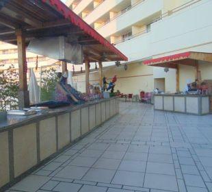 """Grillplatz"" Hotel Hilton Hurghada Plaza"