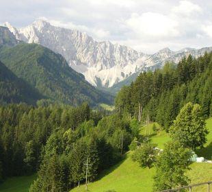 Blick vom Balkon BergPension Lausegger