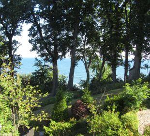 Blick vom Hotelzimmer zur Ostsee Inselhotel Rügen B&B