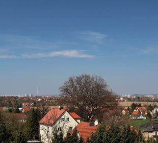 Blick nach Dresden Pension Nussschale